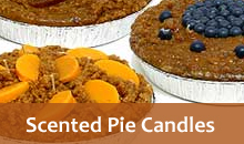 Scented Pie Candles